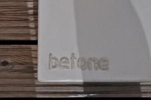 Schrimständer aus Beton Detail
