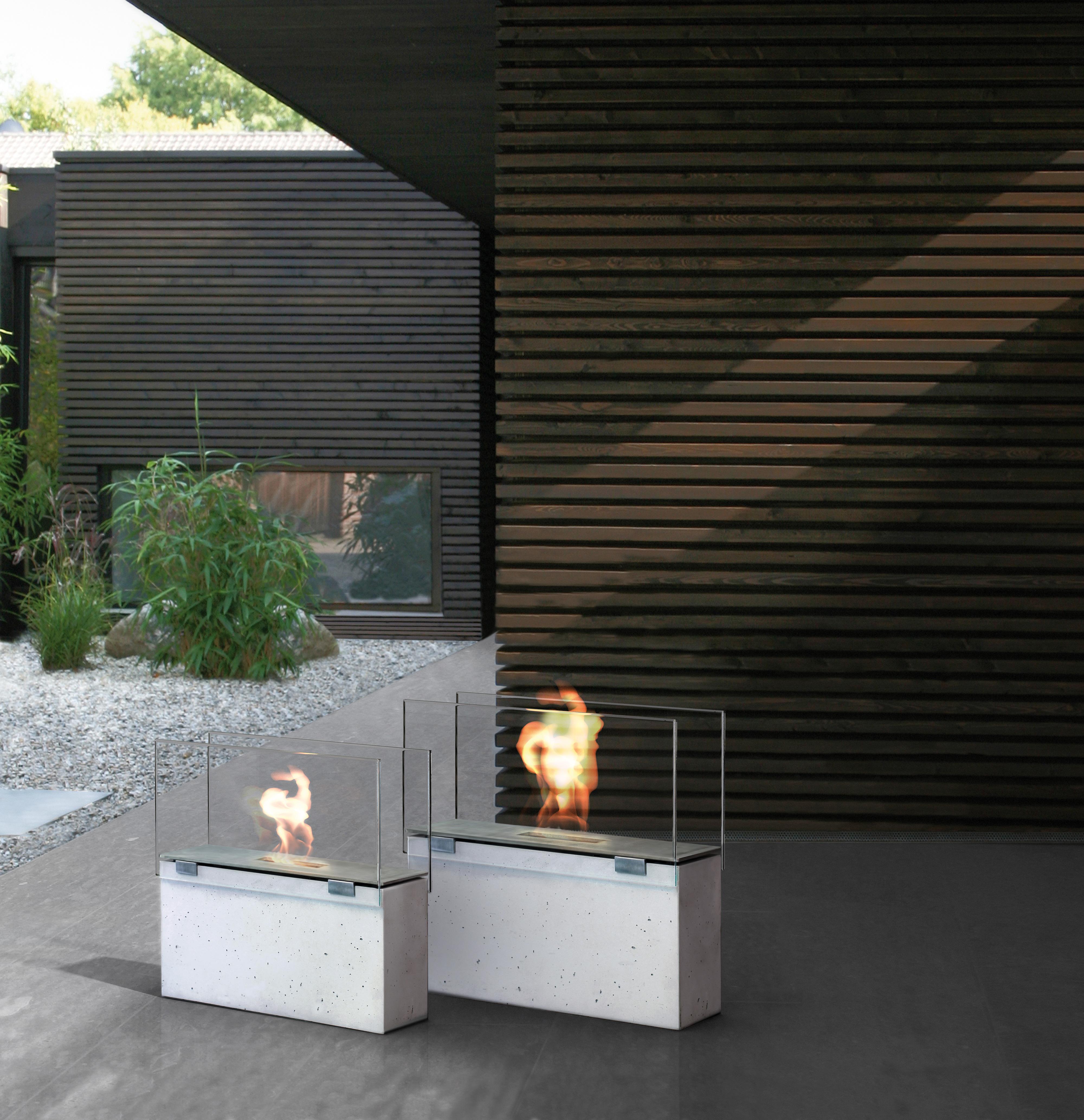 Beton-Feuerstelle von Conmoto
